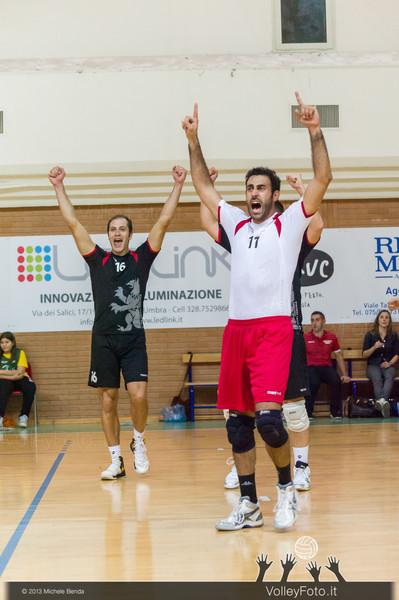 2013.10.19 Grifo Volley Perugia - Olio Monini Spoleto - 1ª giornata Campionato Italiano Volley Maschile B2 girone E - 2013/14 (id:_MBD2173)