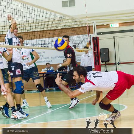 2013.10.19 Grifo Volley Perugia - Olio Monini Spoleto - 1ª giornata Campionato Italiano Volley Maschile B2 girone E - 2013/14 (id:_MBD2256)