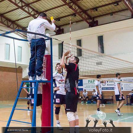 2013.10.19 Grifo Volley Perugia - Olio Monini Spoleto - 1ª giornata Campionato Italiano Volley Maschile B2 girone E - 2013/14 (id:_MBY5041)