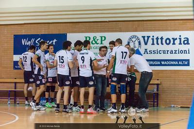 2013.10.19 Grifo Volley Perugia - Olio Monini Spoleto - 1ª giornata Campionato Italiano Volley Maschile B2 girone E - 2013/14 (id:_MBD2266)