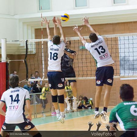Grifo Volley Perugia - Olio Monini Spoleto - 1ª giornata Campionato Italiano Volley Maschile B2 girone E - 2013/14