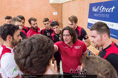 Paolo De Paolis, Grifo Volley Perugia time out