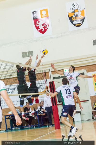 2013.10.19 Grifo Volley Perugia - Olio Monini Spoleto - 1ª giornata Campionato Italiano Volley Maschile B2 girone E - 2013/14 (id:_MBD2077)