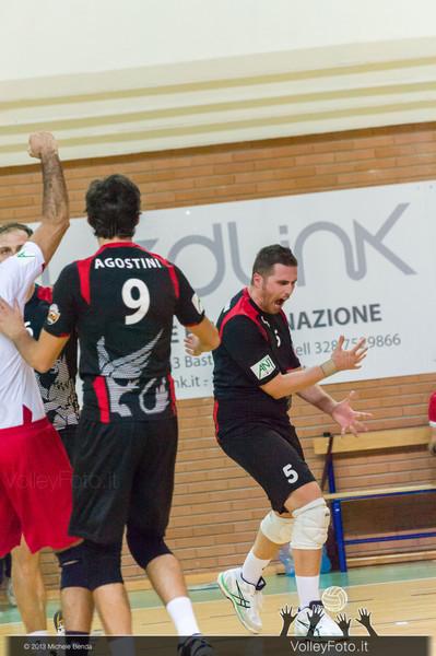 2013.10.19 Grifo Volley Perugia - Olio Monini Spoleto - 1ª giornata Campionato Italiano Volley Maschile B2 girone E - 2013/14 (id:_MBD2160)