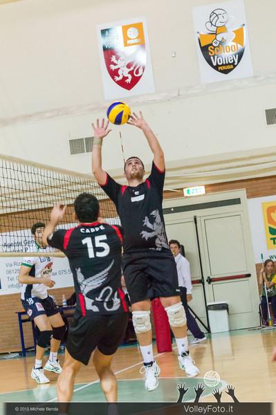 2013.10.19 Grifo Volley Perugia - Olio Monini Spoleto - 1ª giornata Campionato Italiano Volley Maschile B2 girone E - 2013/14 (id:_MBD2183)