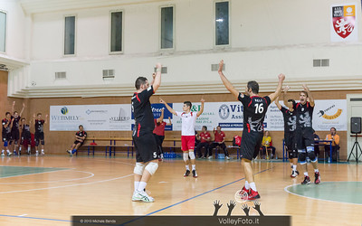 Grifo Volley Perugia esulta