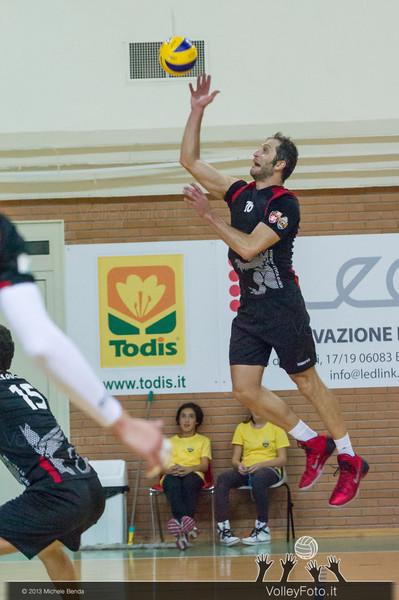Luca Belli attacco