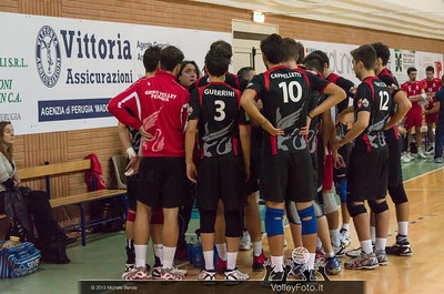 Paolo De Paolis, Grifo Volley Perugia time out