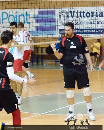 Vincenzo Mastroianni, esulta