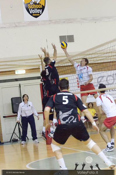 Grifo Volley PERUGIA - Interporto ORTE | 5ª giornata, Campionato Italiano di Volley Maschile, Serie B2 girone F [2013/14] (id: 2013.11.16._MBY0270)