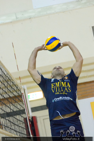 Mario Scappaticcio, palleggio