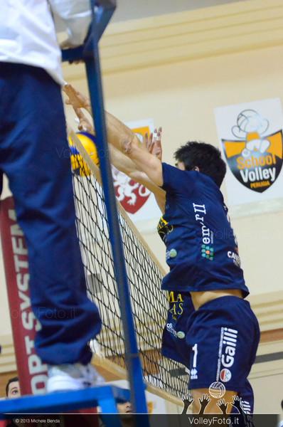 Grifo Volley Perugia - Emma Villas Vitt Chiusi | 10ª Giornata, Campionato Italaiano di Pallavolo Maschile, Serie B2 girone E [2013/14] (id: 2013.12.21._MBY7443)