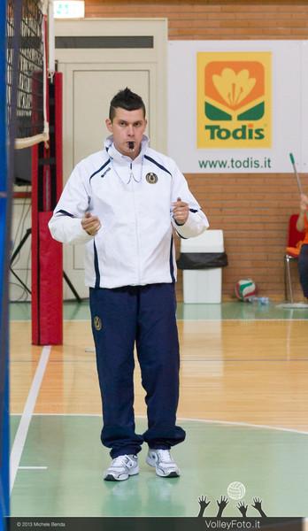 Fabio Piergiovanni, primo arbitro