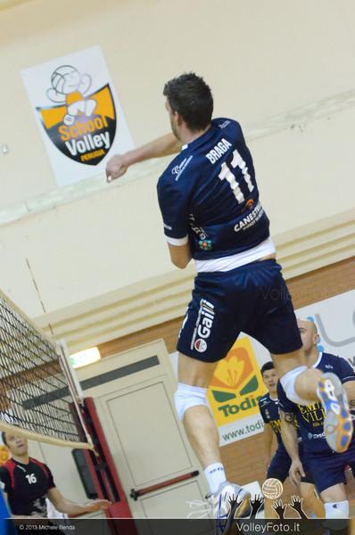 Roberto Braga, attacco