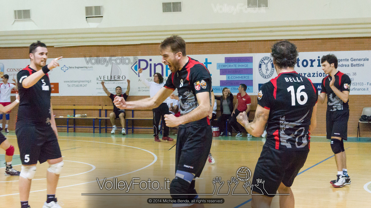 2014.04.05 Grifo Volley Perugia - Roma 7 Volley [B2M]