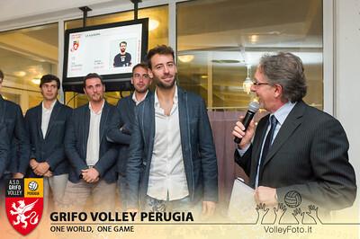 2013.10.03 Presentazione alla stampa - Grifo Volley Perugia (id:_MBC6907)