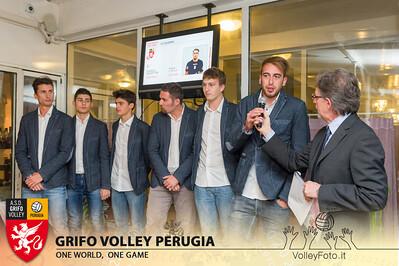 2013.10.03 Presentazione alla stampa - Grifo Volley Perugia (id:_MBC6894)