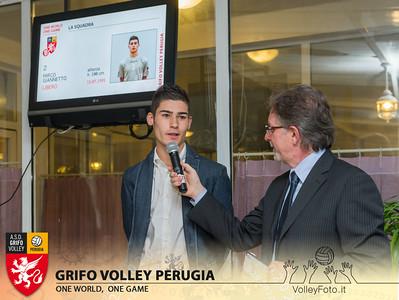 2013.10.03 Presentazione alla stampa - Grifo Volley Perugia (id:_MBC6872)