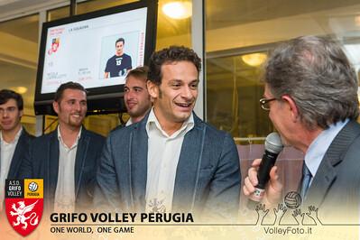 2013.10.03 Presentazione alla stampa - Grifo Volley Perugia (id:_MBC6912)