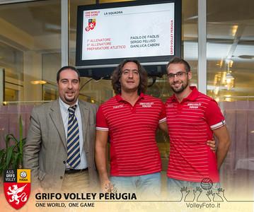 2013.10.03 Presentazione alla stampa - Grifo Volley Perugia (id:_MBC6856)
