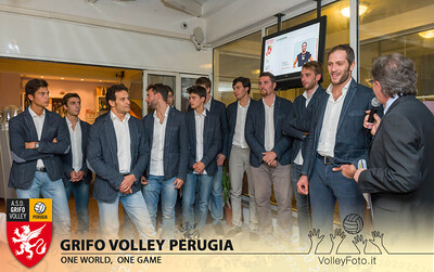 2013.10.03 Presentazione alla stampa - Grifo Volley Perugia (id:_MBC6924)