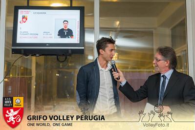 2013.10.03 Presentazione alla stampa - Grifo Volley Perugia (id:_MBC6858)