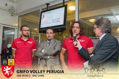 2013.10.03 Presentazione alla stampa - Grifo Volley Perugia (id:_MBC6853)