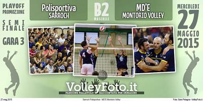 Sarroch Polisportiva - MD'E Montorio Volley