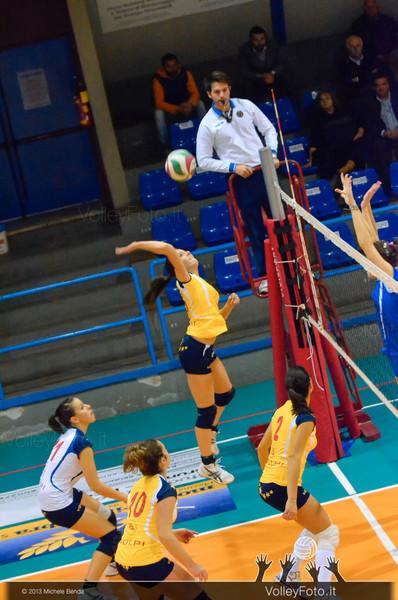 One Investigazioni Bastia - Volley 86 Petrignano | Campionato regionale umbro pallavolo femminile, Serie D girone B [2013/14] (id: 2013.12.07._MBY4988)