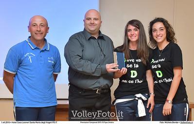 durante Premiazioni Campionati 2015-16 Fipav Umbria presso Hotel Casa Leonori Santa Maria degli Angeli PG IT, 01 ottobre 2016 - Foto di Michele Benda [MB3_1337]
