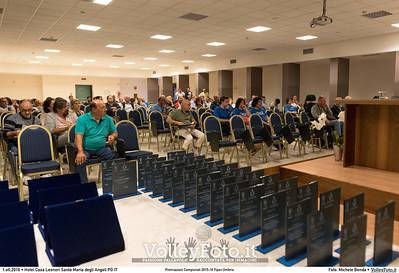 durante Premiazioni Campionati 2015-16 Fipav Umbria presso Hotel Casa Leonori Santa Maria degli Angeli PG IT, 01 ottobre 2016 - Foto di Michele Benda [MB3_1287]
