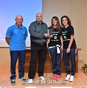 durante Premiazioni Campionati 2015-16 Fipav Umbria presso Hotel Casa Leonori Santa Maria degli Angeli PG IT, 01 ottobre 2016 - Foto di Michele Benda [MB3_1336]