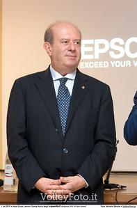 Giuseppe Lomurno durante Premiazioni Campionati 2015-16 Fipav Umbria presso Hotel Casa Leonori Santa Maria degli Angeli PG IT, 01 ottobre 2016 - Foto di Michele Benda [MB3_1332]