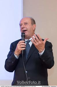 Giuseppe Lomurno durante Premiazioni Campionati 2015-16 Fipav Umbria presso Hotel Casa Leonori Santa Maria degli Angeli PG IT, 01 ottobre 2016 - Foto di Michele Benda [MB3_1322]