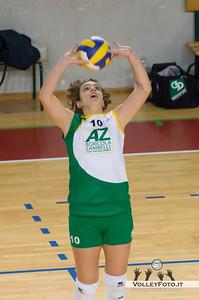 Erika Campana, palleggio Asd Pallavolo Libertas Perugia - Zambelli Orvieto 21ª Giornata, Campionato regionale Volley Femminile, Serie C Umbria 2012/13
