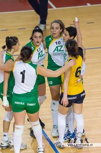 abbraccio Orvieto Asd Pallavolo Libertas Perugia - Zambelli Orvieto 21ª Giornata, Campionato regionale Volley Femminile, Serie C Umbria 2012/13