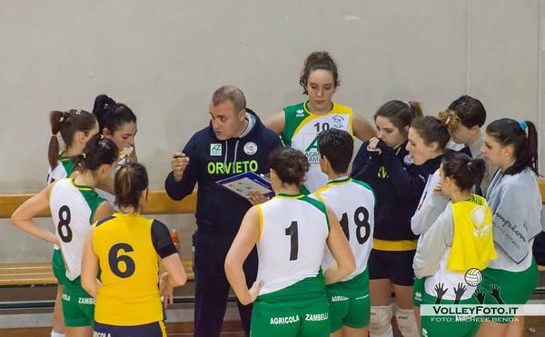 Time Out Orvieto Asd Pallavolo Libertas Perugia - Zambelli Orvieto 21ª Giornata, Campionato regionale Volley Femminile, Serie C Umbria 2012/13