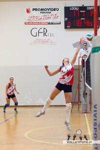 QSA Promovideo Perugia - Newfont Prep F.lli Mori Gubbio 17ª Giornata Campionato regionale Volley Femminile Serie C - Umbria - 2012/13