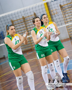 New Front Prep F.lli Mori Gubbio - Agricola Zambelli Volley Team Orvieto | Finale gara 1 Campionato Regionale di Volley Femminile Serie C 2012/13