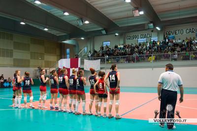 presentazione  Agricola Zambelli Volley Team Orvieto - New Front Prep F.lli Mori Gubbio   Finale gara 2 Campionato Regionale di Volley Femminile Serie C 2012/13