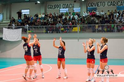 Agricola Zambelli Volley Team Orvieto - New Front Prep F.lli Mori Gubbio   Finale gara 2 Campionato Regionale di Volley Femminile Serie C 2012/13
