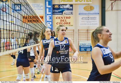 Ellera Volley - Monini Granfruttato Spoleto 13ª giornata Serie C Femminile UMBRIA.  Palestra Comunale di Ellera PG, 16.01.2016 FOTO: Maurizio Lollini © 2016 Volleyfoto.it, all rights reserved [id:20160116.DSC_0439]