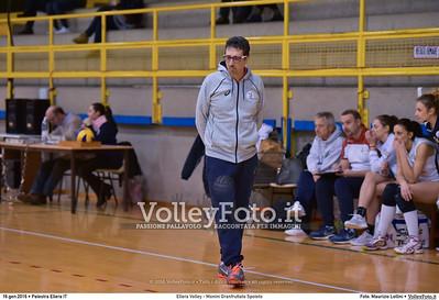 Ellera Volley - Monini Granfruttato Spoleto 13ª giornata Serie C Femminile UMBRIA.  Palestra Comunale di Ellera PG, 16.01.2016 FOTO: Maurizio Lollini © 2016 Volleyfoto.it, all rights reserved [id:20160116.DSC_0495]