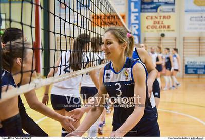 Ellera Volley - Monini Granfruttato Spoleto 13ª giornata Serie C Femminile UMBRIA.  Palestra Comunale di Ellera PG, 16.01.2016 FOTO: Maurizio Lollini © 2016 Volleyfoto.it, all rights reserved [id:20160116.DSC_0432]