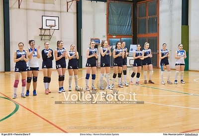 Ellera Volley - Monini Granfruttato Spoleto 13ª giornata Serie C Femminile UMBRIA.  Palestra Comunale di Ellera PG, 16.01.2016 FOTO: Maurizio Lollini © 2016 Volleyfoto.it, all rights reserved [id:20160116.DSC_0429]