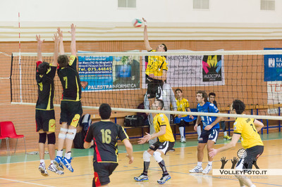 Grifo Volley Perugia - G.S.D. Il Nastro Pallavolo Selci 15ª giornata, Campionato Regionale Volley Maschile, Serie C Umbria 2012/13