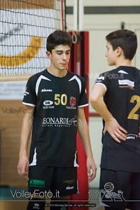 Grifo Volley Perugia U17M - Istituto Leonardi Perugia U17M | 8ª giornata - Campionato provinciale Perugia Prima Divisione Maschile, girone B (id: 2014.01.09._MBE1083)
