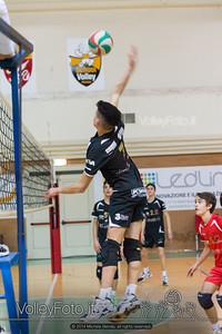 Grifo Volley Perugia U17M - Istituto Leonardi Perugia U17M | 8ª giornata - Campionato provinciale Perugia Prima Divisione Maschile, girone B (id: 2014.01.09._MBE1092)