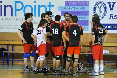 Grifo Volley Perugia U17M - Istituto Leonardi Perugia U17M | 8ª giornata - Campionato provinciale Perugia Prima Divisione Maschile, girone B (id: 2014.01.09._MBE1099)