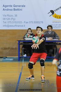 Grifo Volley Perugia U17M - Istituto Leonardi Perugia U17M | 8ª giornata - Campionato provinciale Perugia Prima Divisione Maschile, girone B (id: 2014.01.09._MBE1107)